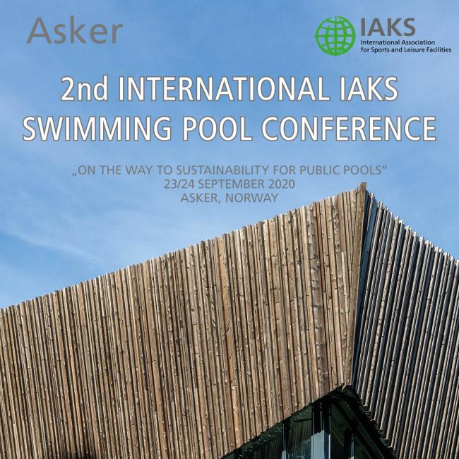 IAKS swimming pool seminar 2020 programme cover for preview